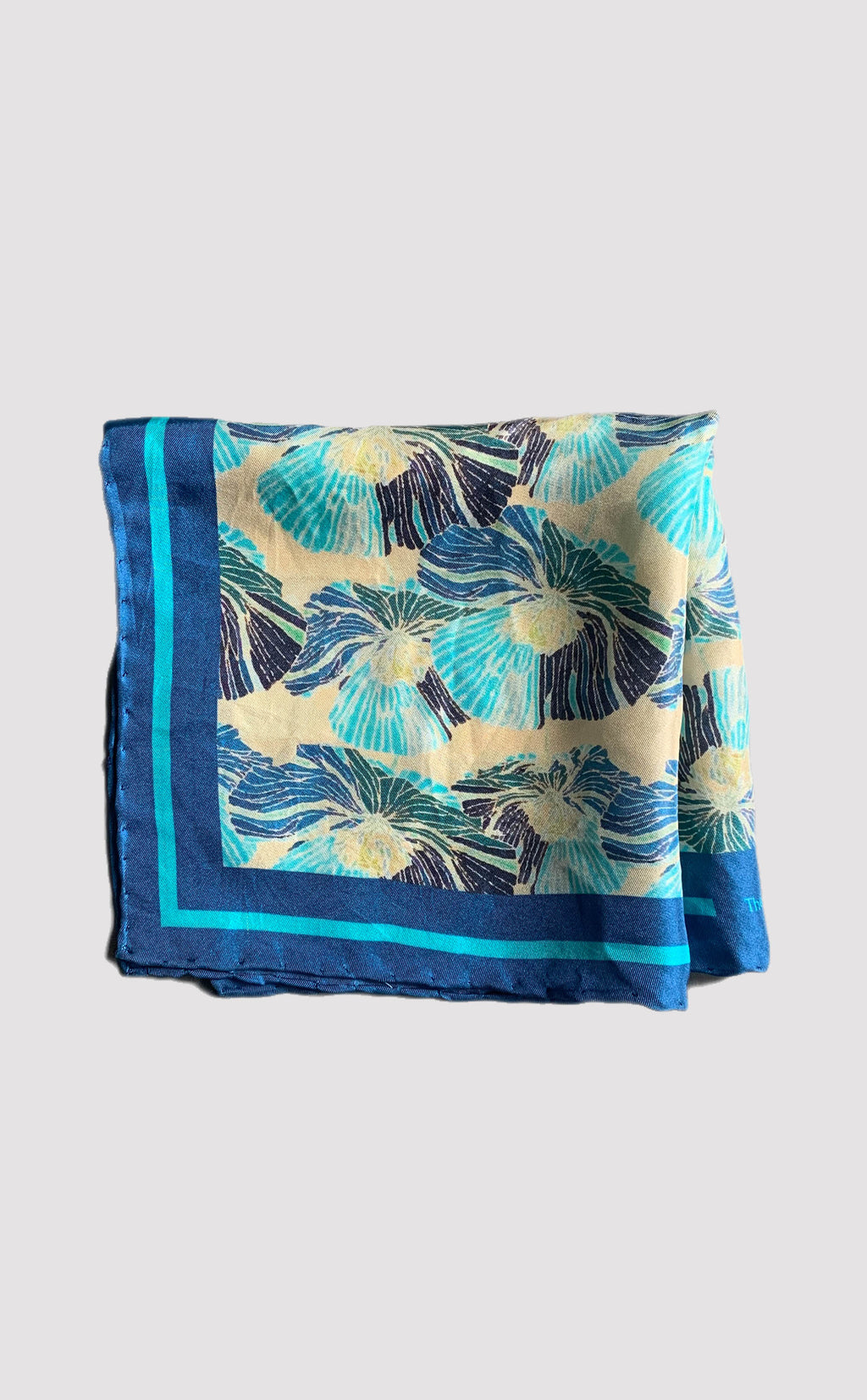 Bloom Pocket Square