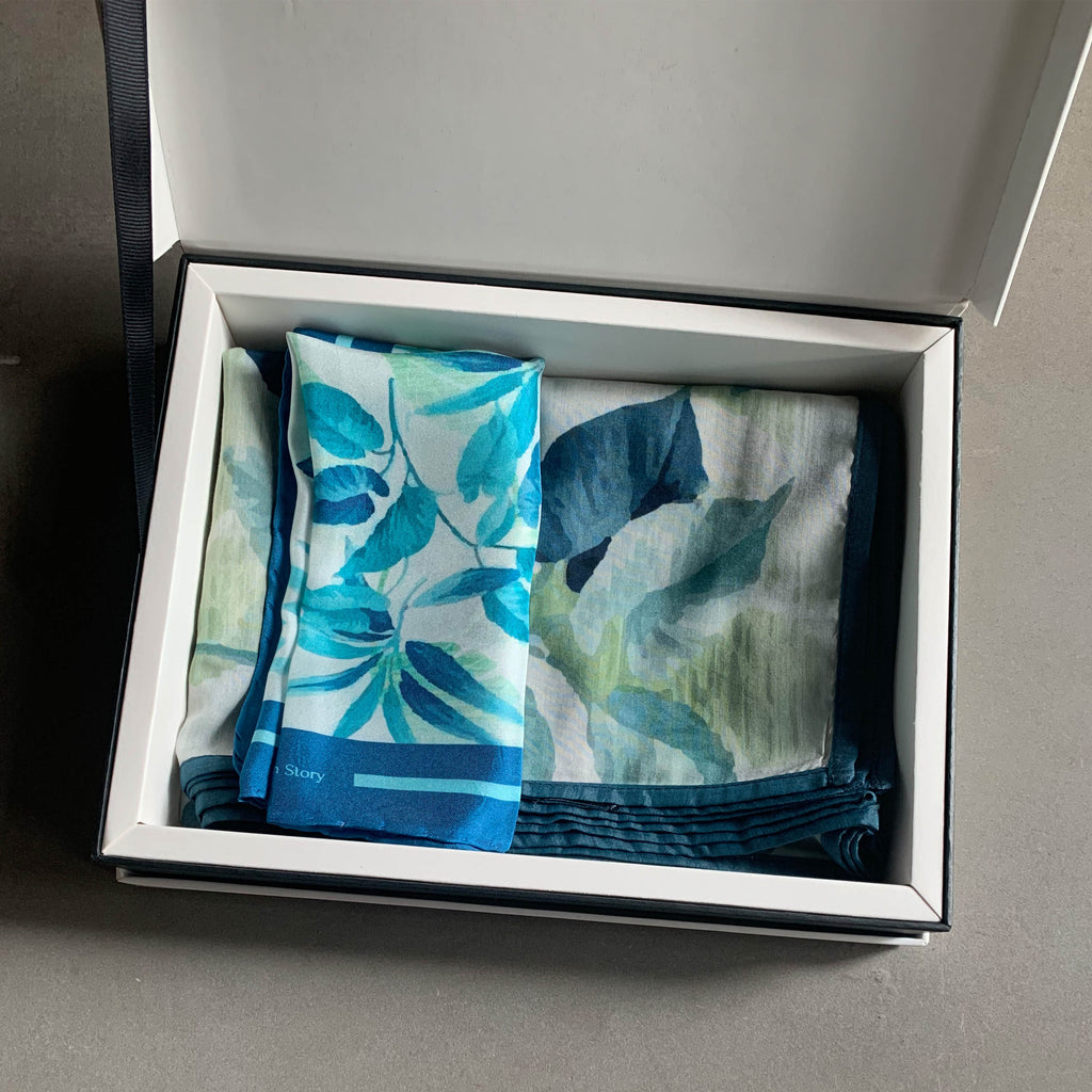 Aquatic Leaves Gift Set