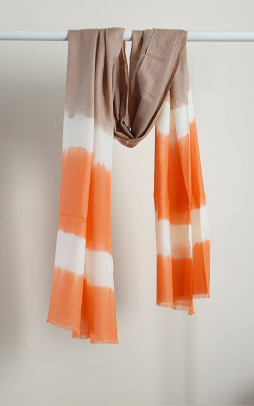 Merino Dyed Peach