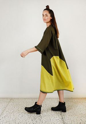 Movement Buttoned Down Dress