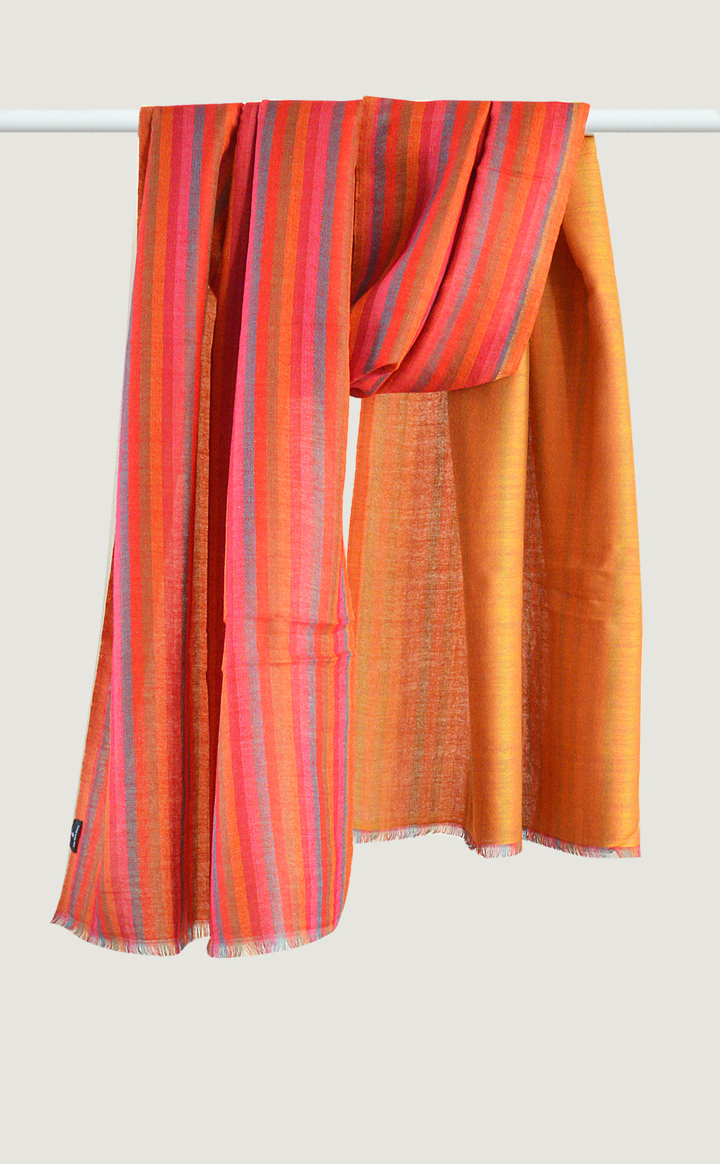 Orange Reversible Stripes