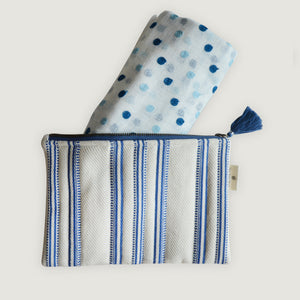 Nautical Pouch & Stole Set