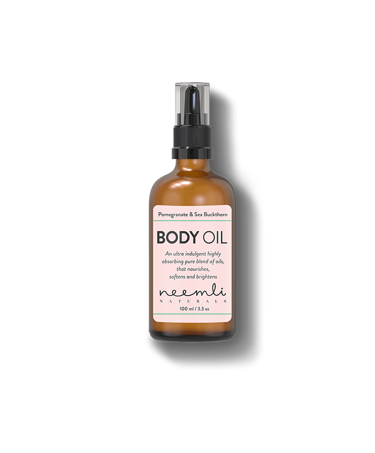 Pomegranate and Sea Buckthorn Body Oil