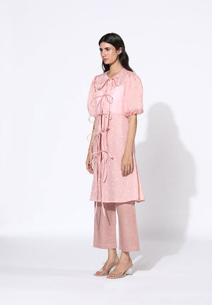 Rosa Tie-Up Tunic Set