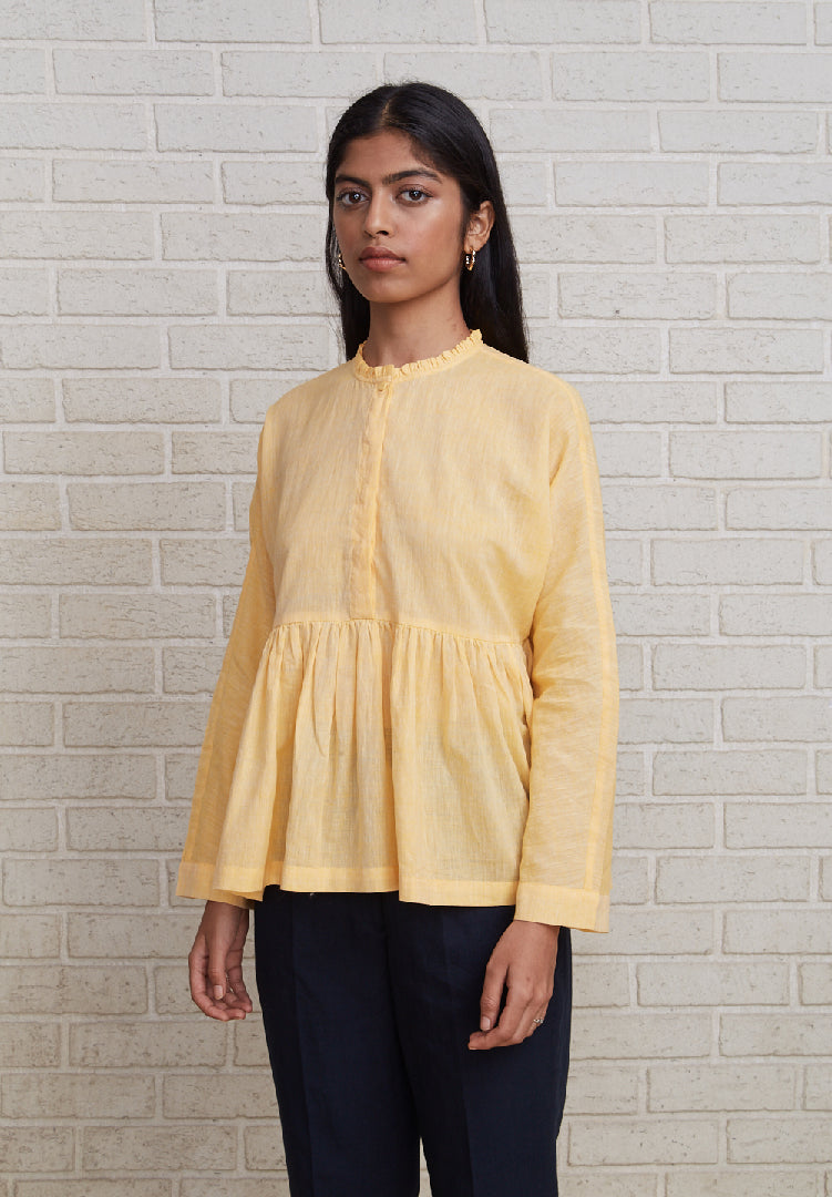 Frill Top Yellow