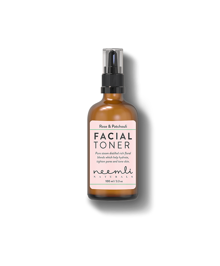 Rose and Patchouli Pore Tightening Facial Toner