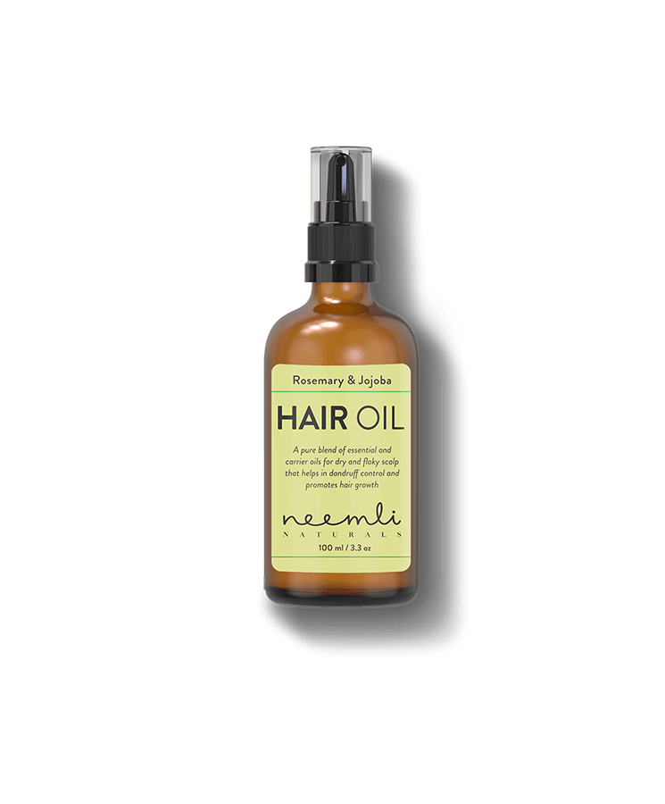 Rosemary & Jojoba Hair Oil