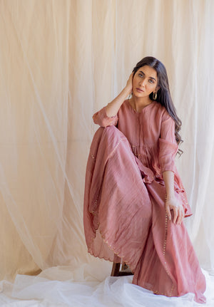 Blush Nayab Gharara Set