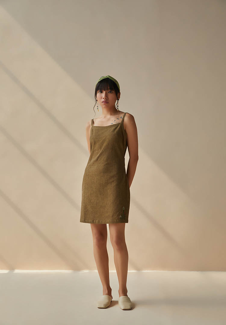 The Earth Slip Dress