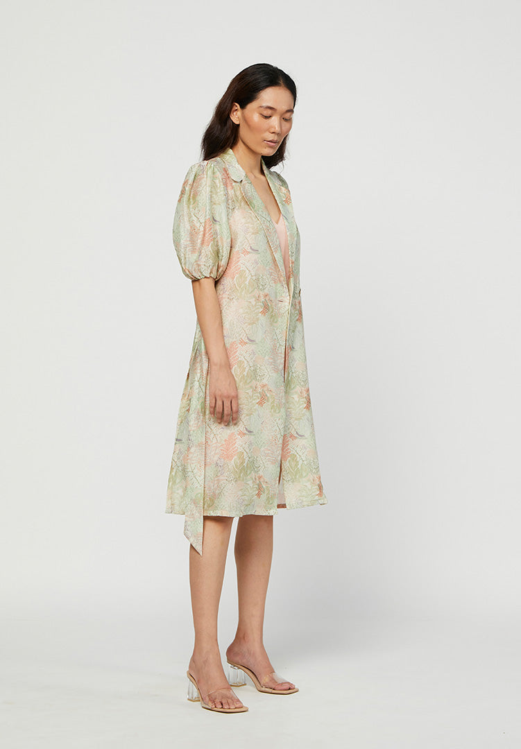 Terra Coat Dress with Rosa Slip Dress
