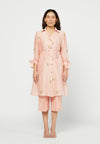 Rosa Embroidered Tunic Set