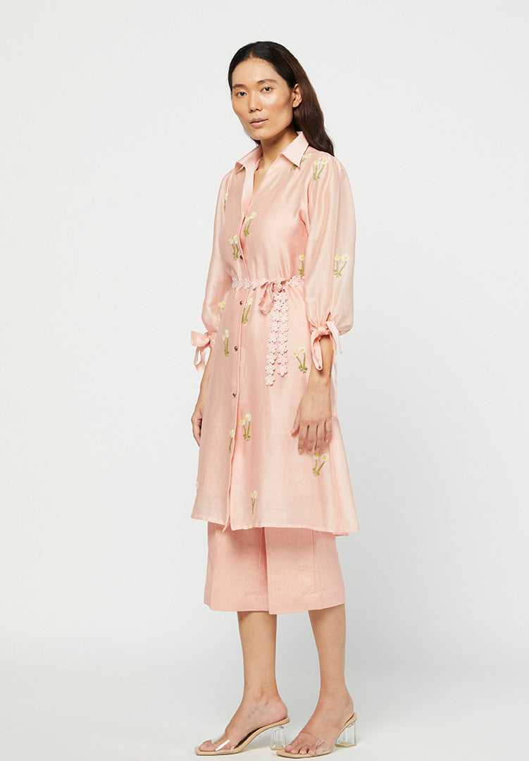 Rosa Embroiderd Tunic Set