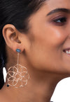 Logo Floret Drop Earrings
