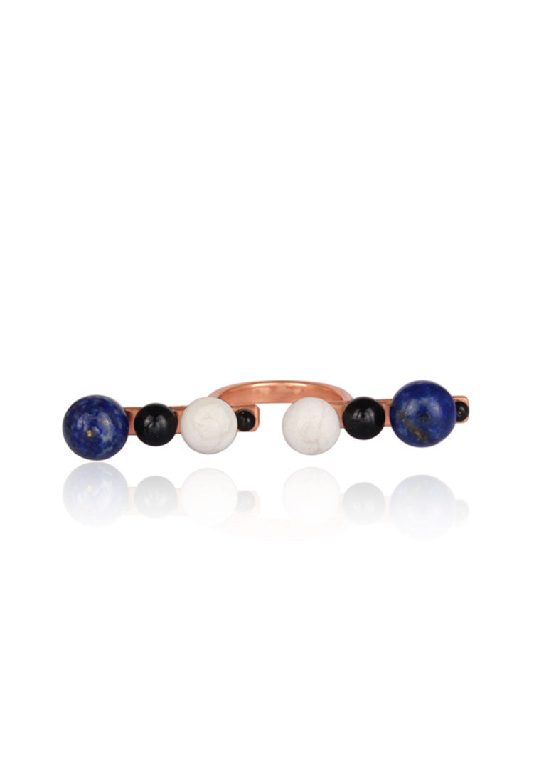 Three-Finger Ball Ring