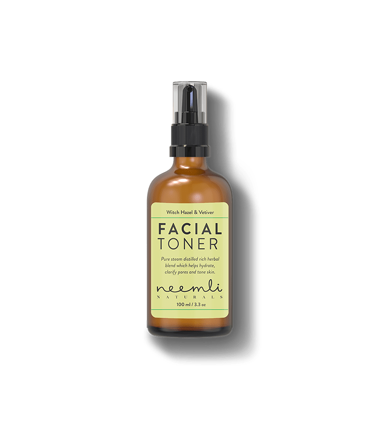 Witch Hazel & Vetiver Pore Refining Facial Toner