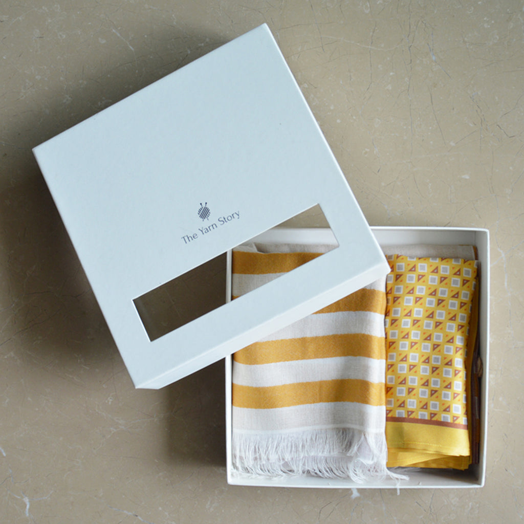 Stole & Pocket Square Set