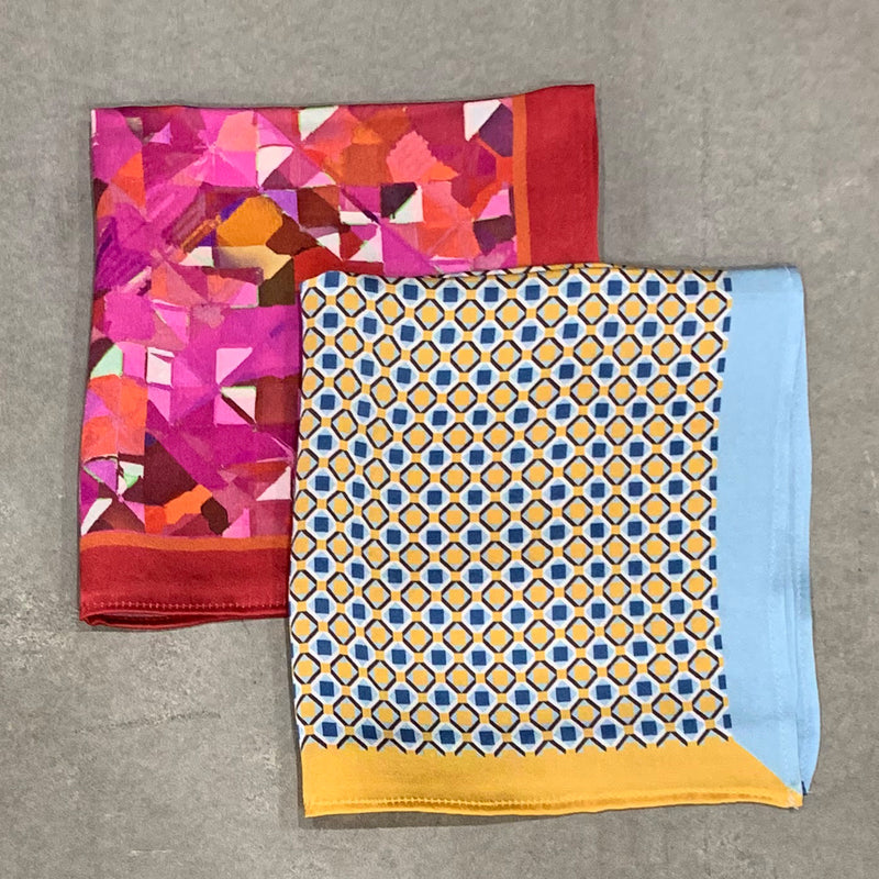 Set of 2 Pocket Square