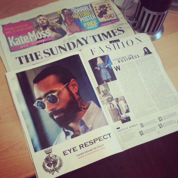 The very best press links for our eyewear brands Eye Respect, LDNR, Solo & PACE