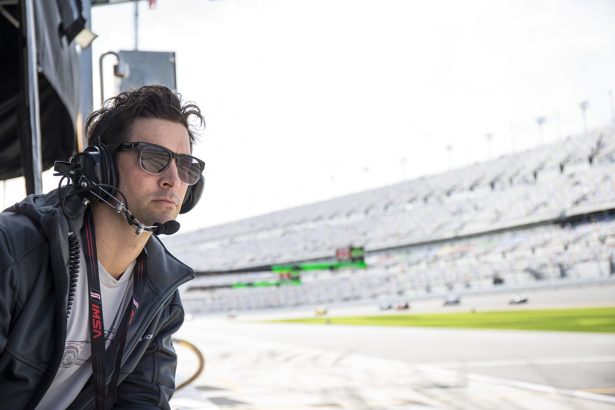 Incredible American Baseball Pitcher and Car Racing Team owner CJ Wilson goes into eyewear