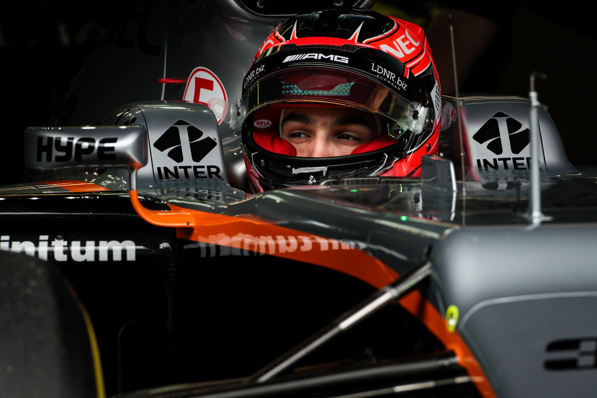 LDNR und Eye Respekt Fliegend hoch mit Sahara Force India Formula One Team