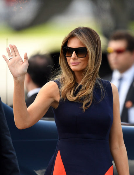 Melania Trump wearing Ana by Eye Respect Sunglasses