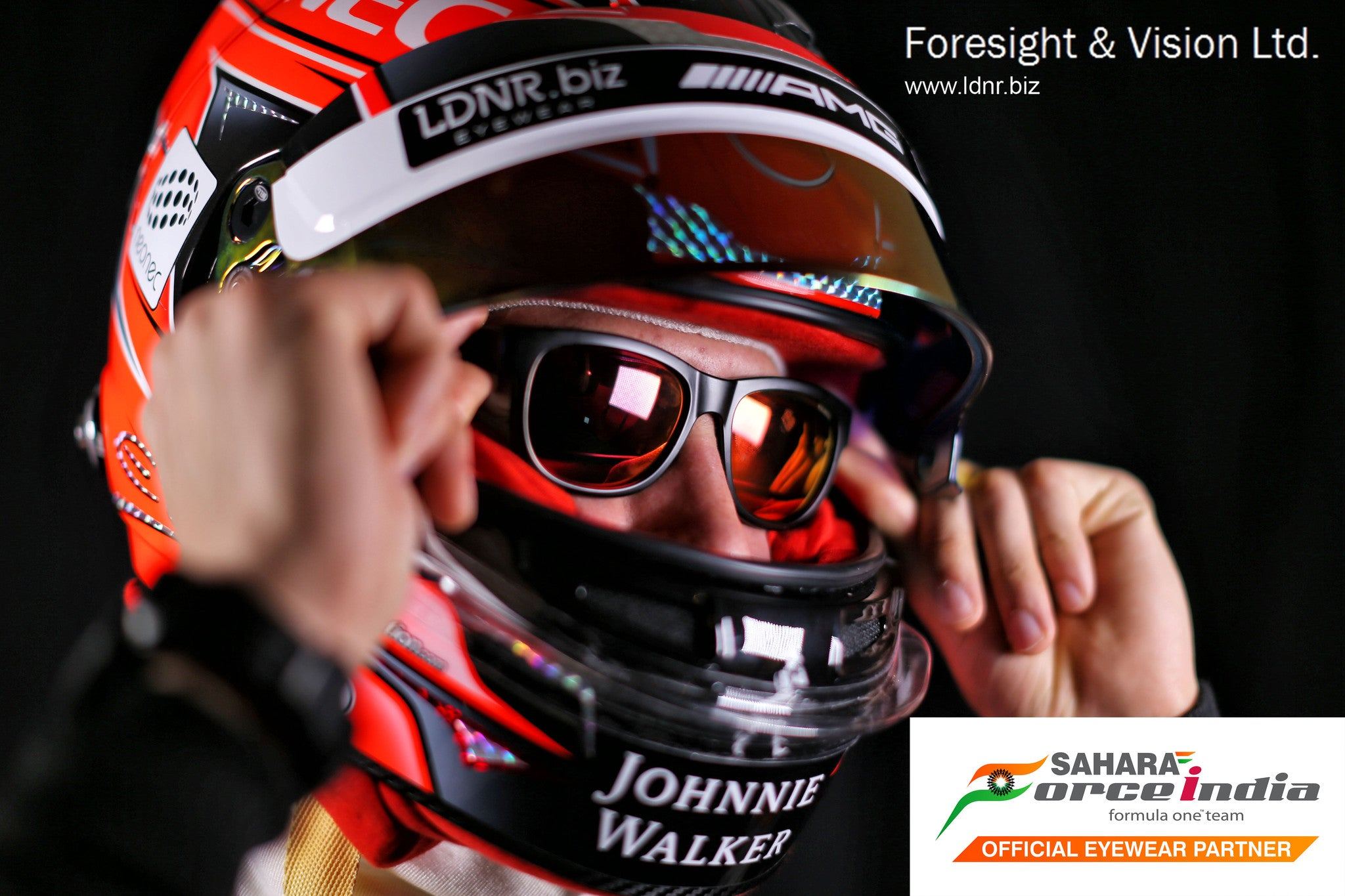 British eyewear leaders Foresight & Vision launch Eye Respect & LDNR into Formula One