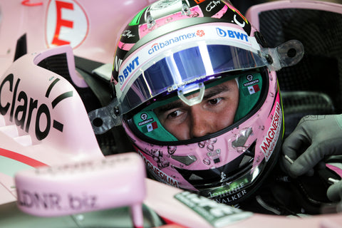 Meet no.11 Sergio Perez and see images of him in LDNR Eyewear