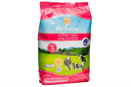 Oz Farm Instant Skim Cream Milk Powder 1KG