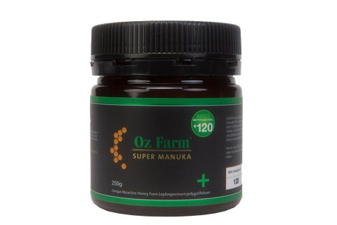 Oz Farm Super Manuka +120 Honey 250g