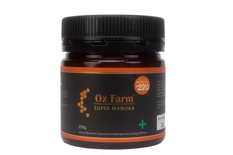 Oz Farm Super Manuka +220 Honey 250g
