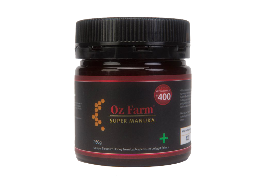 Oz Farm Super Manuka +400 Honey 250g