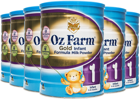 OZ Farm Gold Infant Formula (6 * 900g)