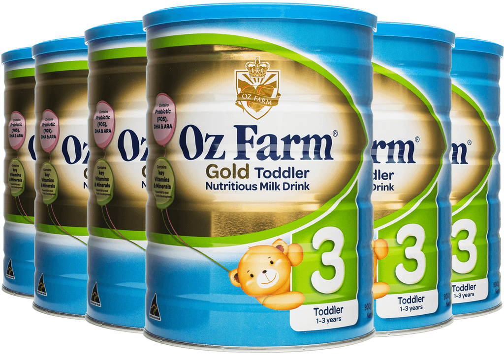OZ Farm Gold Toddler Formula (6 * 900g)
