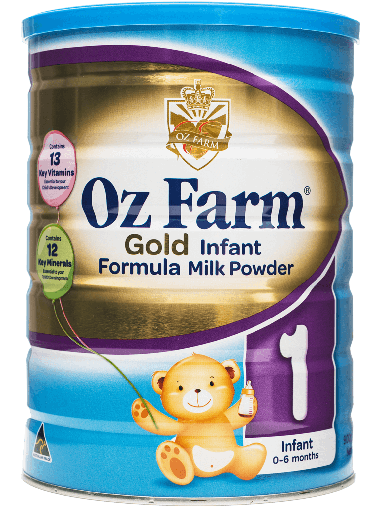 OZ Farm Gold Infant Formula 900g (Boxed, 6 Cans, 900g Each)