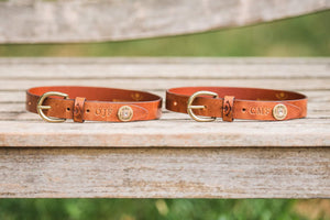 Have you seen our new M&G Tots range - leather belts for children