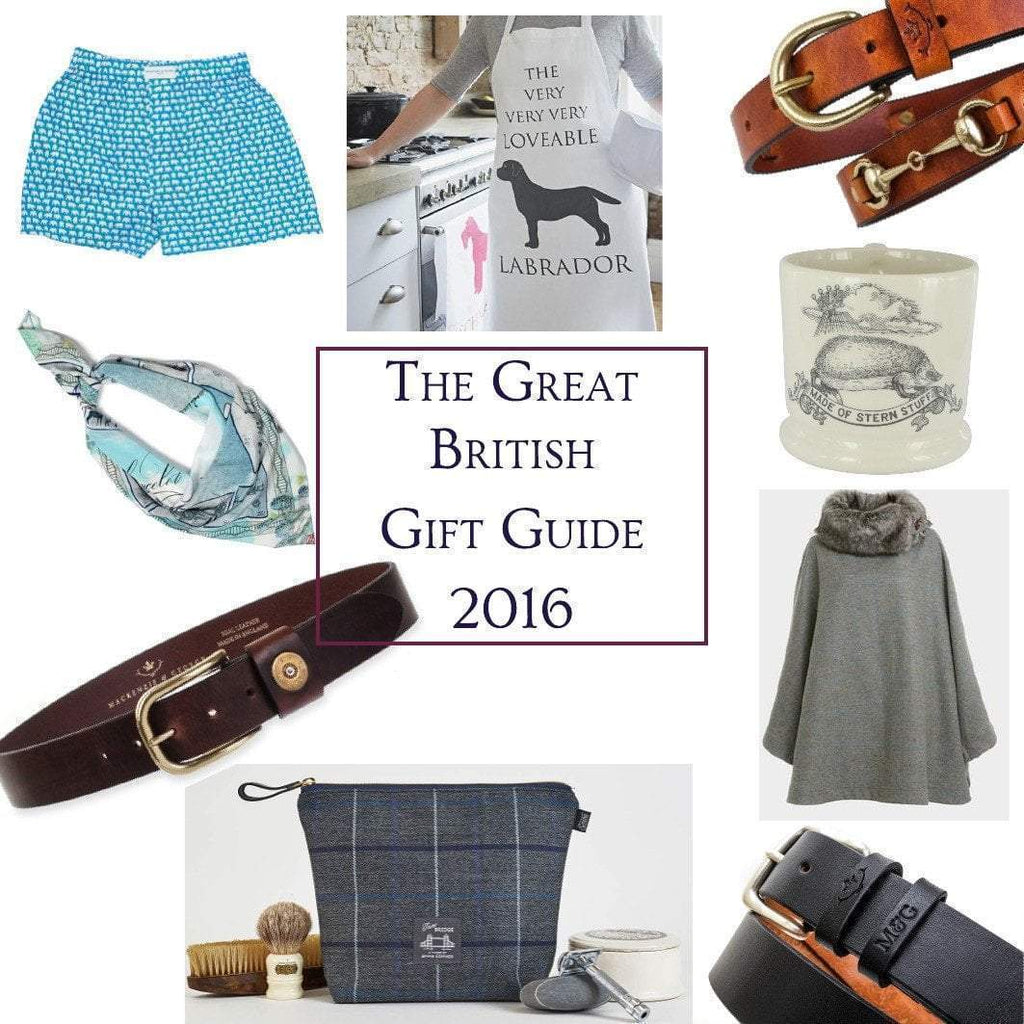 The Great British Gift Guide: 2016