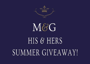 His & Hers Great British Summer Giveaway!