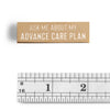 """Ask me about my Advance Care Plan"" Enamel Pin"