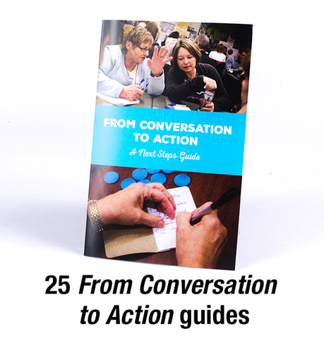 From Conversation to Action guides (pack of 25)