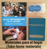 SPANISH Conversation Event Kit: SMALL (up to 25 participants)