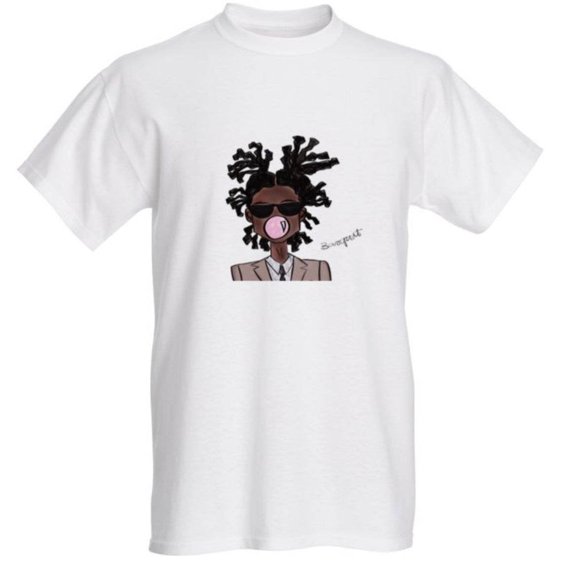 """Pop"" Art Basquiat Tee"