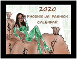 2020 Phoenix Jai Fashion Sketch Calendar