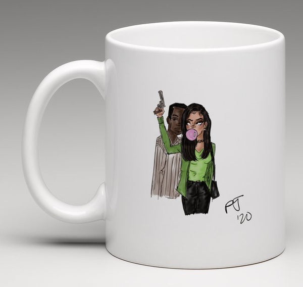 """Pop"" Art Coffee Mug"