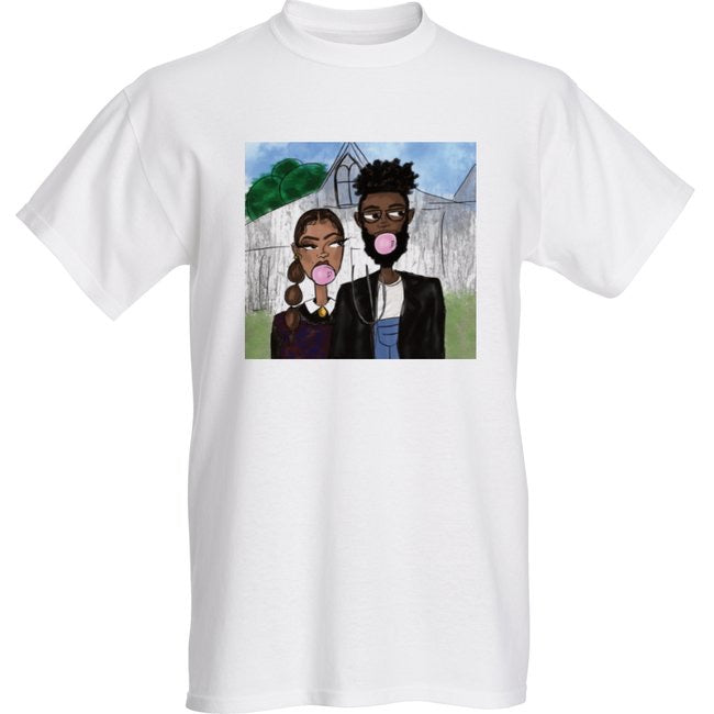"""Pop"" Art African-American Gothic Tee"