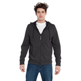 BauBax MensTravel Sweat Shirt in Charcoal Grey