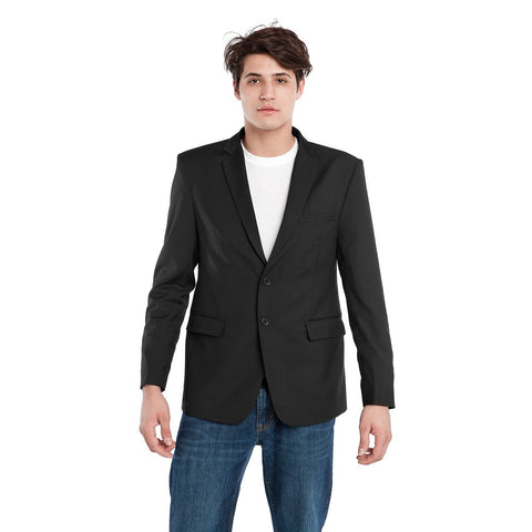 BauBax Mens Travel Blazer in Black
