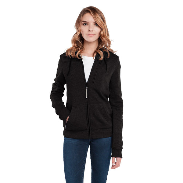 BauBax Ladies Travel SweatShirt in Black