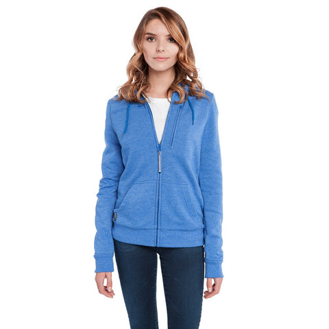 BauBax Ladies Travel SweatShirt in Blue