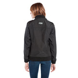 BauBax Ladies Travel Bomber Jacket in Black