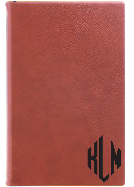 Rose Vegan Leather Journal